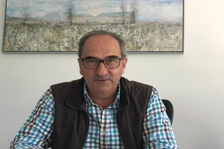 Francisco Urzaiz propietario de Agroebro
