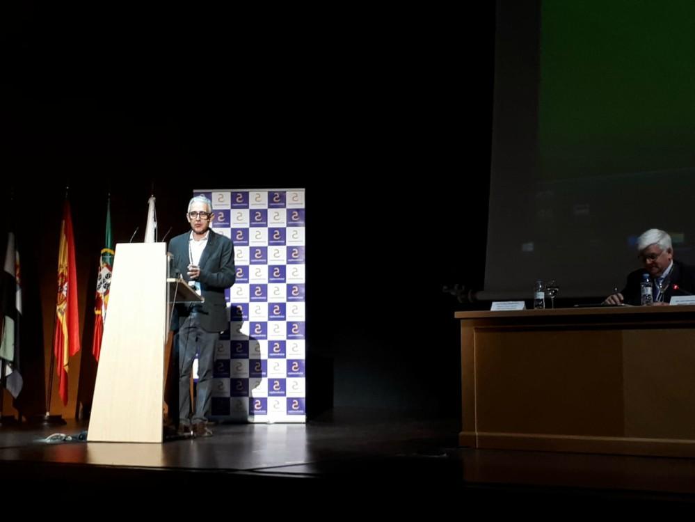 Javier Bernabéu en Agroexpo