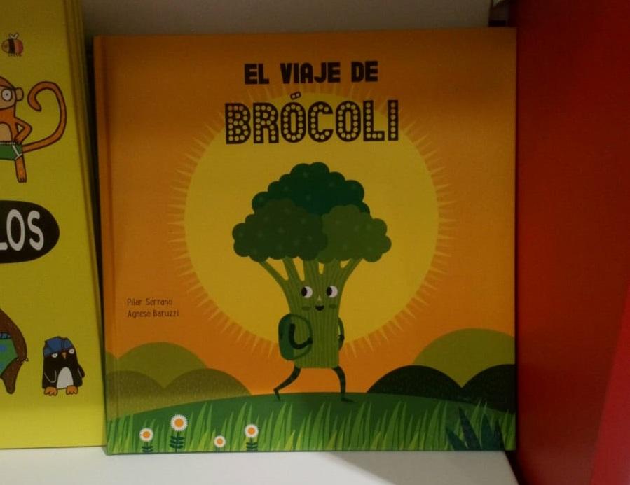 Portada de El viaje de Brócoli